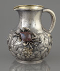 Silver & Vertu:Hollowware, AN AMERICAN SILVER, SILVER GILT AND MIXED METAL PITCHER . Whiting Manufacturing Company, New York, New York, circa 1880. Mar...