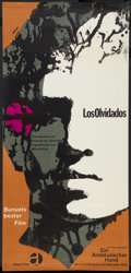 "Movie Posters:Crime, Los Olivados (Atlas Film, R-1960s). German Poster (23"" X 49.5"").Crime.. ..."