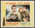 "Movie Posters:Drama, Saigon (Paramount, 1948). Lobby Card (11"" X 14""). Drama.. ..."