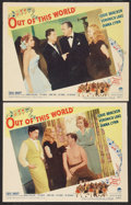 """Movie Posters:Musical, Out of This World (Paramount, 1945). Lobby Cards (2) (11"""" X 14""""). Musical.. ... (Total: 2 Items)"""