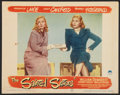 "Movie Posters:Comedy, The Sainted Sisters (Paramount, 1948). Lobby Card (11"" X 14""). Comedy.. ..."