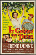 "Movie Posters:Comedy, It Grows on Trees Lot (Universal International, 1952). One Sheets (2) (27"" X 41""). Comedy.. ... (Total: 2 Items)"