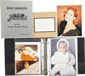 Music Memorabilia:Autographs and Signed Items, Lisa Marie Presley Rare Photos with Priscilla Presley SignedItems....
