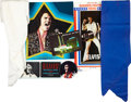 Music Memorabilia:Memorabilia, Elvis Presley 1971-72 Las Vegas Memorabilia Group.... (Total: 7 Items)