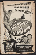 "Movie Posters:Sports, The Spirit of Stanford (Columbia, 1942). Pressbook (12"" X 18"") (Multiple Pages). Sports.. ..."