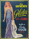 "Movie Posters:Film Noir, Gilda (Columbia, R-1970s). French Grande (45"" X 62""). Film Noir.. ..."