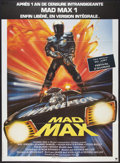 "Movie Posters:Science Fiction, Mad Max (Warner Brothers, 1980). French Grande (45"" X 62""). ScienceFiction.. ..."
