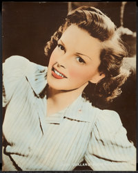 "Judy Garland Personality Poster (MGM, 1940s). Poster (22"" X 28""). Miscellaneous"