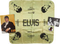Music Memorabilia:Memorabilia, Elvis Presley International Hotel Memorabilia Group.... (Total: 4Items)
