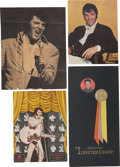 Music Memorabilia:Memorabilia, Elvis Presley International Hotel Menus (1969-71).... (Total: 4 )
