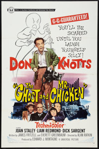 """The Ghost and Mr. Chicken (Universal, 1966). One Sheet (27"""" X 41""""). Comedy"""