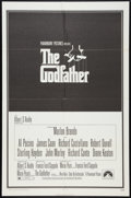 "Movie Posters:Crime, The Godfather (Paramount, 1972). Flat Stock One Sheet (27"" X 41"").Crime.. ..."
