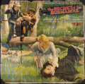 """Movie Posters:Serial, The Secret of the Submarine (Mutual, 1915). Six Sheet (81"""" X 81"""") Chapter 10. Serial.. ..."""
