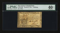 Colonial Notes:New Jersey, New Jersey January 9, 1781 5s PMG Extremely Fine 40 EPQ.. ...