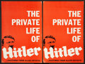 """Movie Posters:Historical Drama, Hitler (Allied Artists, 1962). Pressbooks (2) (Multiple Pages, 12""""X 18""""). Historical Drama.. ... (Total: 2 Items)"""