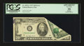 Error Notes:Foldovers, Fr. 2072-C $20 1977 Federal Reserve Note. PCGS Apparent Very Fine35.. ...