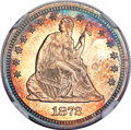 Proof Seated Quarters, 1872 25C PR66 NGC....