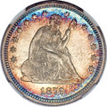 Seated Quarters, 1879 25C MS68 ★ NGC....