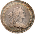 Early Dollars, 1800 $1 Wide Date, Low 8 VF30 NGC. B-10, BB-190, R.3....