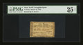 Colonial Notes:New York, Poughkeepsie, NY- City of Poughkeepsie 1 Penny March 19, 1791 Harris 1 PMG Very Fine 25 Net.. ...