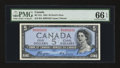 Canadian Currency: , BC-31a $5 Devil's Face 1954. ...