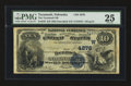 National Bank Notes:Nebraska, Tecumseh, NE - $10 1882 Date Back Fr. 539 The Tecumseh NB Ch. # (W)4276. ...