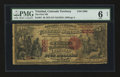 National Bank Notes:Colorado, Trinidad, Colorado Territory - $5 1875 Fr. 401 The First NB Ch. #2300. ...