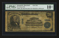 National Bank Notes:Maryland, Annapolis, MD - $20 1902 Plain Back Fr. 650 The Farmers NB Ch. #1244. ...