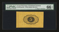 Fractional Currency:First Issue, Fr. 1231spwmb 5¢ First Issue PMG Gem Uncirculated 66 EPQ.. ...