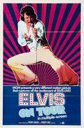 Music Memorabilia:Posters, That's the Way It Is/Elvis On Tour One Sheet/Half SheetGroup.... (Total: 3 Items)