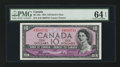 Canadian Currency: , BC-32a $10 1954. ...