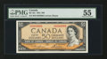 Canadian Currency: , BC-42c $50 1954. ...