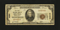 National Bank Notes:Pennsylvania, Millville, PA - $20 1929 Ty. 1 The First NB Ch. # 5389. ...