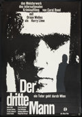 "Movie Posters:Film Noir, The Third Man (Atlas, R-1962). German A0 (33"" X 47""). Film Noir.. ..."
