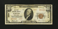 National Bank Notes:Maryland, Barton, MD - $10 1929 Ty. 2 The First NB Ch. # 6399. ...