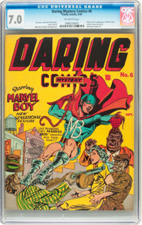 Daring Mystery Comics #6 (Timely, 1940) CGC FN/VF 7.0 Off-white pages