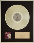 Music Memorabilia:Awards, Elvis Presley Promised Land RCA In-House Gold AlbumAward....