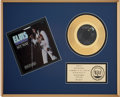 "Music Memorabilia:Awards, ""My Way"" RIAA Gold Single Award...."
