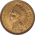 Indian Cents, 1892 1C MS66 Red NGC....