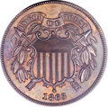 Patterns, 1863 2C Two Cents, Judd-316, Pollock-381, High R.6, PR65 Brown PCGS....