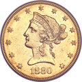 Liberty Eagles, 1880-O $10 AU55 PCGS....