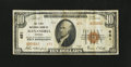National Bank Notes:Virginia, Alexandria, VA - $10 1929 Ty. 2 The First NB Ch. # 651. ...