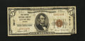 National Bank Notes:Virginia, Leesburg, VA - $5 1929 Ty. 1 The Peoples NB Ch. # 3917. ...
