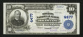 National Bank Notes:Virginia, Bristol, VA - $10 1902 Plain Back Fr. 627 The Dominion NB Ch. #4477. ...