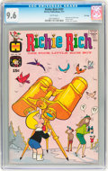 Bronze Age (1970-1979):Humor, Richie Rich #107 File Copy (Harvey, 1971) CGC NM+ 9.6 White pages....
