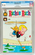 Bronze Age (1970-1979):Humor, Richie Rich #109 (Harvey, 1971) CGC NM+ 9.6 Off-white pages....