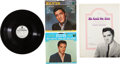 Music Memorabilia:Recordings, Elvis Presley's Personal Gospel Records and Book.... (Total: 4 Items)