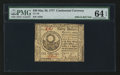 Colonial Notes:Continental Congress Issues, Continental Currency May 20, 1777 $30 PMG Choice Uncirculated 64EPQ.. ...