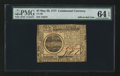 Colonial Notes:Continental Congress Issues, Continental Currency May 20, 1777 $7 PMG Choice Uncirculated 64EPQ.. ...