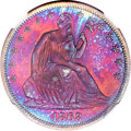 Patterns, 1863 50C Half Dollar, Judd-343, Pollock-415, R.7, PR65+ Red andBrown NGC....